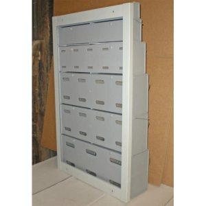 Metal Wall Frame for Tilt Bins (VS510)