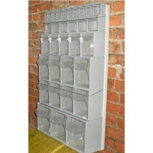 Complete Van Storage Tilt Bin Kit (41 compartments)